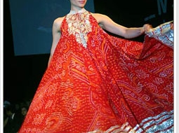 Bandhani fashion for Summer 2011