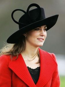 Kate middleton-stylish-black hat