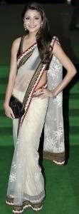 Latest Saree trends 2011 fashion
