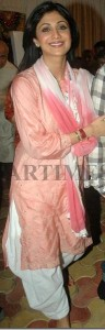 Shilpa shetty latest traditional salwar kurta
