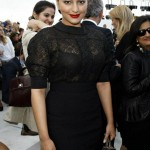 Sonakshi sinha at Paris Fashion Week| Latest Fashion Trends 2011| Black