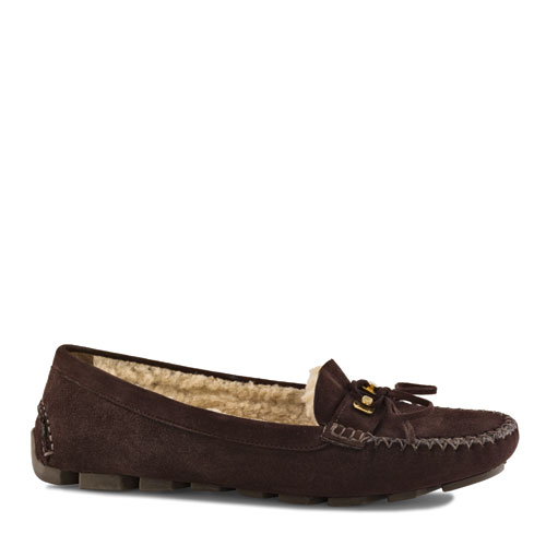brown suede loafers-latest fashion trends 2011-sergio rossi collection