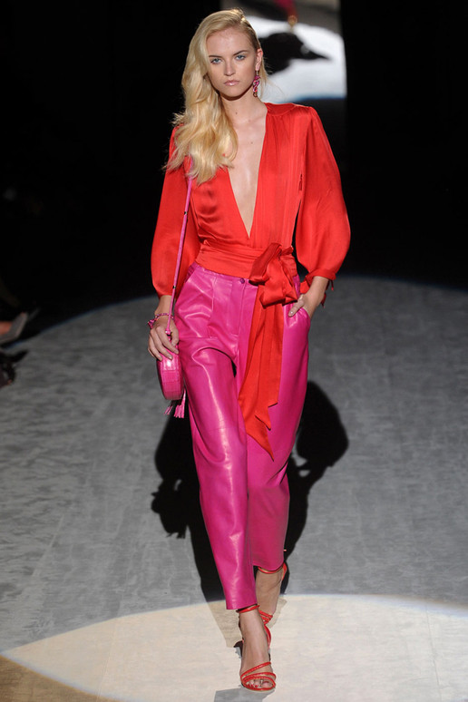 salvatore-ferragamo-pink-oranage-latest-fashion-spring-collection-2012