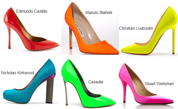 Bright Pumps-latest-fashion-trends-sandals-2012