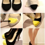 Get your Shoe Re-style in Glitter and NEON |DIY Fashion 2012
