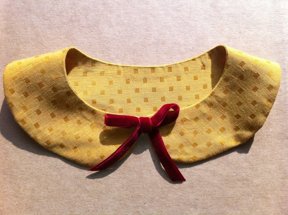 detachable peterpan collar neck