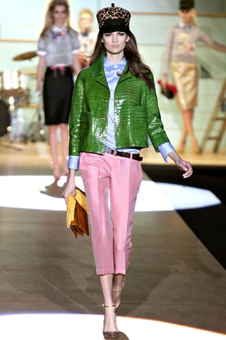 stylish winter fashion neon colour 2012