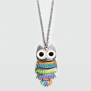 colourfull-owl-pendent-jewellery-trends-fashion-2012