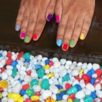 My Pastel Rainbow Nail-art | Colourful nailpaints for Summer 2012