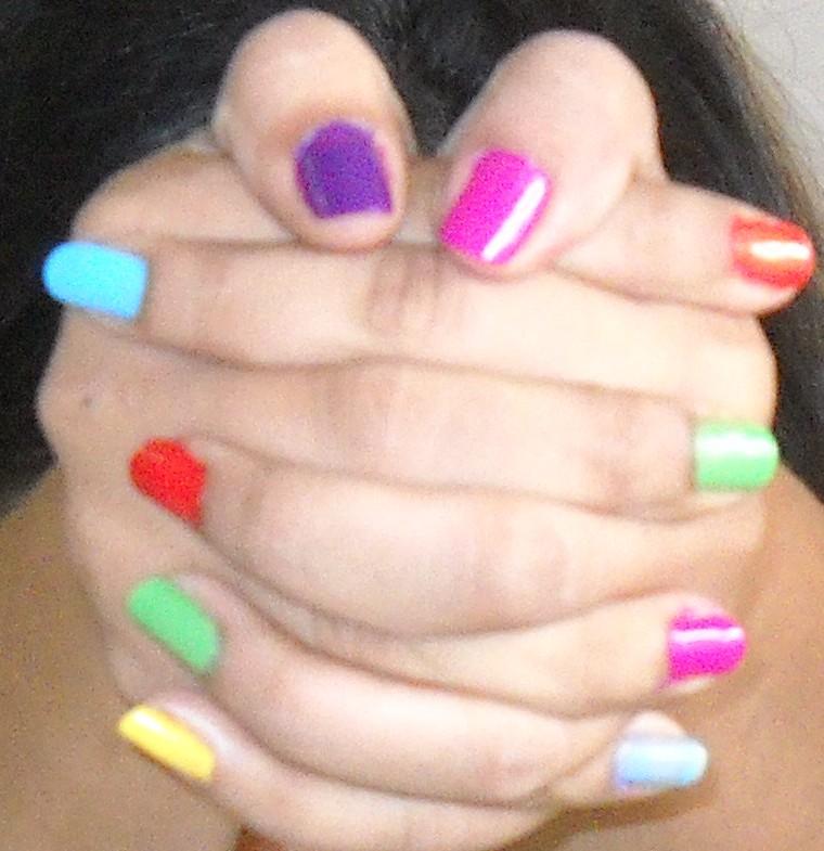 2017 summer fashion trends - Pastel Nail Art Paint Fashion Trends 2012 Fashion Mate