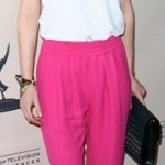 Celebrity Spring 2012 Fashion Trend- Neon Jeans