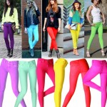 How to wear Neon Jeans- Coloured Jeans Trends for Summer