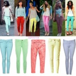How to wear Pastel Jeans | Fashion Trends 2012 -Neon & Pastel Colours