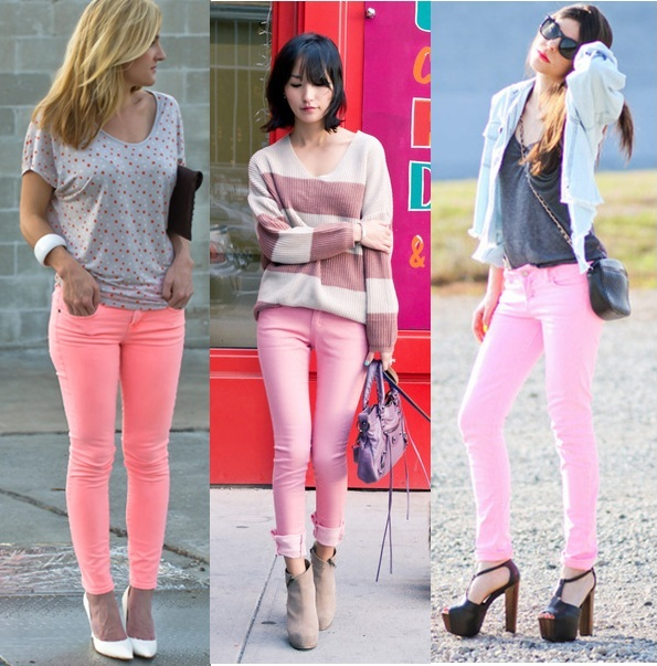 How-to-wear-pastel-pink-jeans-fashion-colour-trends-2012