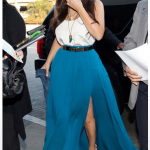 Fashion Trend Alert - Thigh High Slit Skirts - Kim Kardashian Style!!