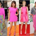 Celebs go Neon Pink!!! Neon Obsession!!