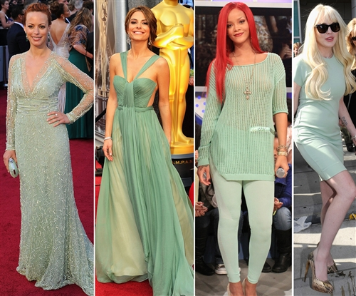 Spring Summer-celebrity-fashion-trends-2012-mint-green-colour