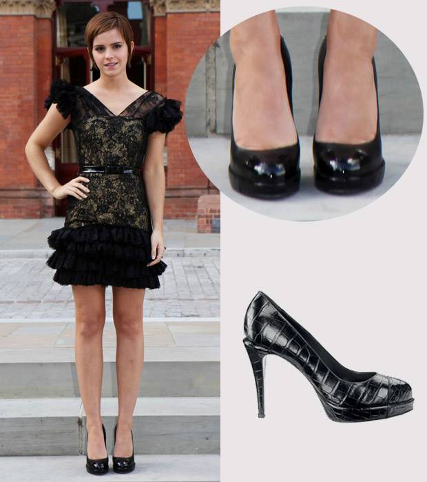emma+WATSON-toe-cap-shoes-latest-fashion-trends-2012