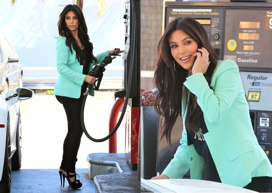 kim-kardashian-alc-mint-green-zoe-blazer-pastel-colour-fashion-trend-2012