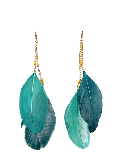 Fashion-earrings-feather-latest-trends-jewellery-2012