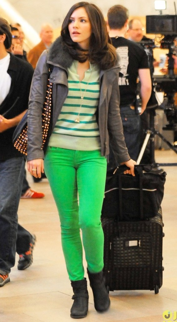 Katherine-mcphee-neon-green-fashion-trend 2012