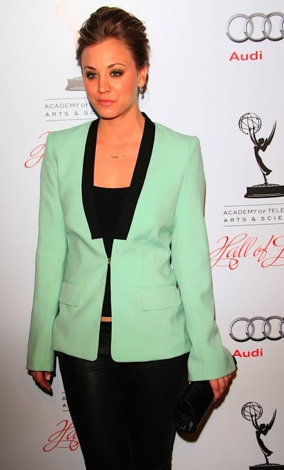 melissa-mccarthy-mint-green-fashion-trends-2012