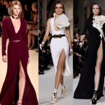 Thigh high slit Obsession-Latest Fashion Trend for 2012