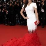 Fur trains at Cannes 2012 | Latest Celebrity fashion heavy fur trains