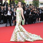 Fan Bing Bing | Ivory gown at Cannes Film Festival 2012