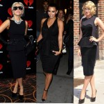 Who wore it better? Black Peplum Dress Celebs
