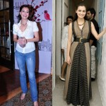 Which Look do you Prefer? Dia Mirza Casual chic or Elegant Lady