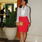 Parineeti Chopra Goes Peplum Pink | Summer fashion trends 2012