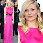Do you like Kristen Dunst Neon Pink Outfit at Cannes 2012?