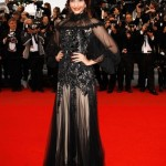 Sonam Kapoor in Alexander McQueen at Cannes 2012