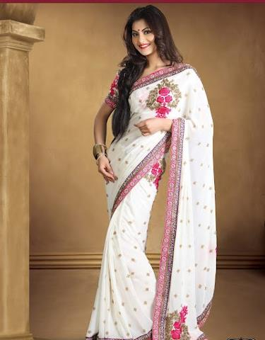 Designer fashionable sarees buy online at Fashionkafatka