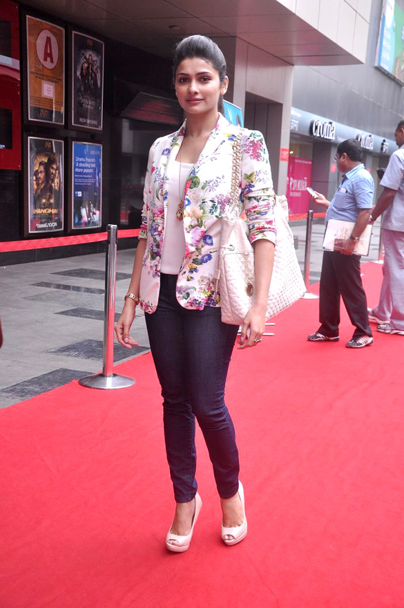 prachi desai floral jacket environment day celebrity summer fashion trends 2012