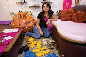 Swati Modo-Fashionable-Custom-made-shoe-designer-with-her-collection-2012