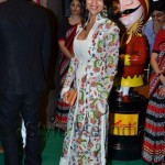 Priyanka alva in Rohit Bal at IIFA 2012 rocks green carpet
