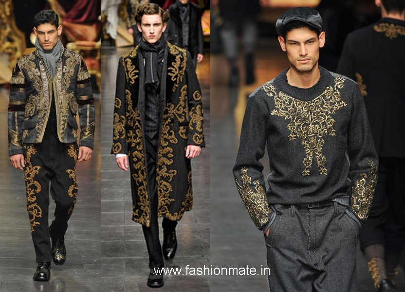 77c3f38a9805 Indian influence on Milan Mens Fashion Week Autumn-Winter 2012 in ...