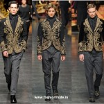 Indian influence on Milan Mens Fashion Week Autumn-Winter 2012 in Frankie Morello and Dolce & Ga...