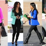 Kim Kardashian flaunts Coloured Blazers everywhere