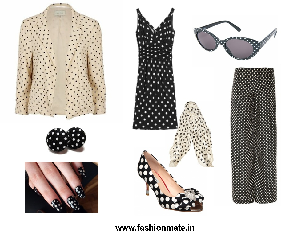 latest fashion trends 2012-do it yourself-how-to-wear-polka-dot-spot-dress