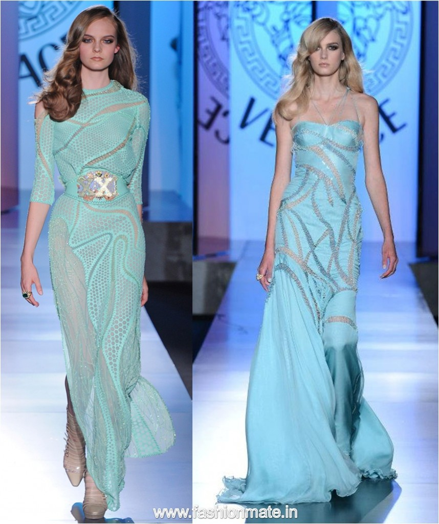 Atelier Versace Haute couture collection Winter Fall 2012-13