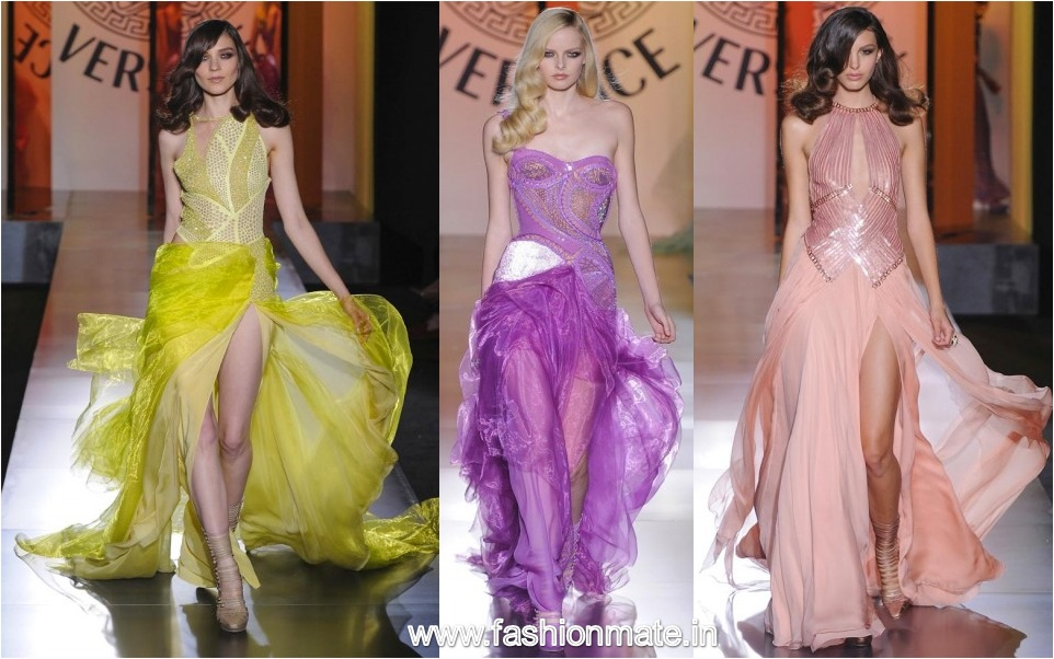 Atelier Versace Winter Fall Haute Couture 2012-13 at Paris Fashion Week