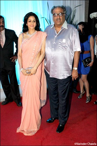 Bollywood actress sridevi at esha deol marriage reception