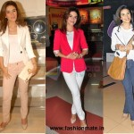 Raageshwari Loomba loves her Blazers| Latest Fashion Trends 2012 Androgynous look!