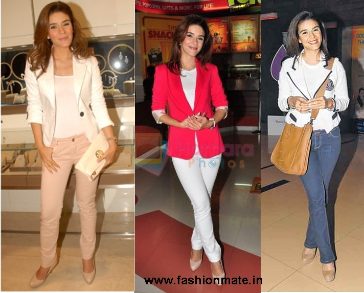 Raageshwari Loomba Jacket Fashion Blazer Trends 2012