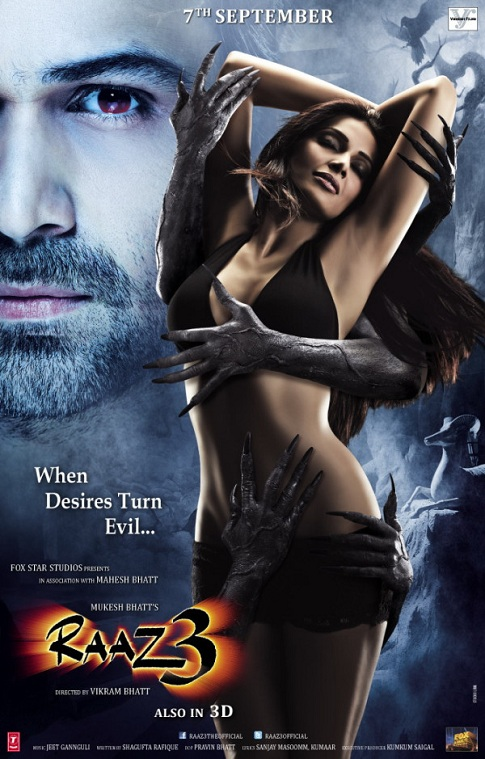 Raaz-3-Hot-Bipasha-Basu-First-Look-Movie-Poster-Celebrity-Fashion