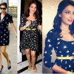Style Check| Bird Print Dress in Vogue | Celebrity fashion Trends