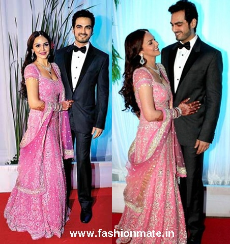 esha deol bharat taktani wedding reception pictures